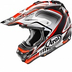 Шлем ARAI MX-V Speedy Red