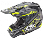 Шлем ARAI MX-V Slash Black Frost