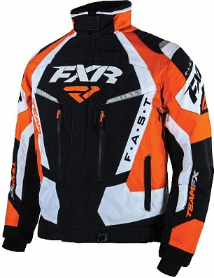 Куртка FXR TEAM FX 15 Black/Orange