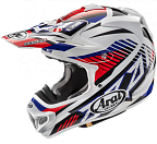 Шлем ARAI MX-V Slash Red